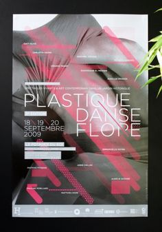 Chevalvert: Plastique Danse Flore #cheval #design #color #poster #type #vert