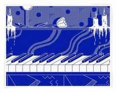 Blue Jazz #illustration