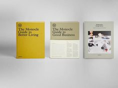 Monocle #business #living #book #monocle