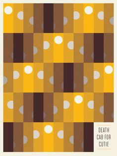 Death Cab For Cutie #simple #pattern #earthy