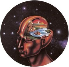 The Yank #earth #head #illustrations #space