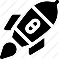 See more icon inspiration related to rocket launch, space ship launch, rocket ship, space ship, rocket and transport on Flaticon.