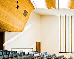 AD Classics: Wolfsburg Cultural Center / Alvar Aalto #interior #aalto #alvar #wolfsburg