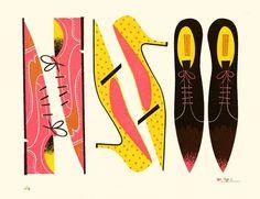 All sizes | Hunt & Gather | Flickr - Photo Sharing! #illustration #design #graphic #retro