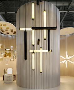 Tubular Puro Suspension Lamps in Hand-Blown Glass by Brokis - InteriorZine