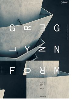 coma - jeffhandesign #greg #design #graphic #lynn #architecture #poster #typography