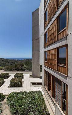 #concrete #architecture Salk Institute by Louis Kahn