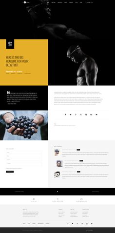 H-Code #Responsive & #Multipurpose #OnePage and #MultiPage #Template For #Blog Detail by #ThemeZaa http://goo.gl/ygs4kX