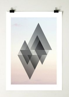 Format 1.0 : Motherbird #geometric #poster