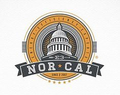 e 3 norcal #vector #cal #branding #illustration #logo #nor