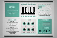 Portfolio on Behance #type #infographics