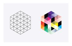 Future Building by Ascend Studio #logo #identity #shape #logos #geometric #colourful #ascend