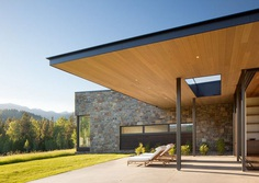 Crescent House in Wyoming by Carney Logan Burke Architects 4