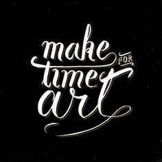 Make time for art by Koning