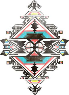 Lefties SS2011 on Behance #pattern #navajo