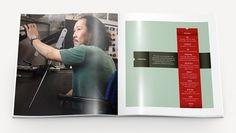 This Is Work   P. Eggleston #white #minnesota #eggleston #teal #brochure