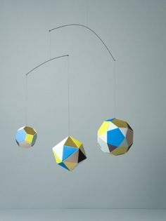 'Trio' Themis Mobile Designed by Clara von Zweigbergk for Artecnica - Douglas + Bec #design #mobile #baby
