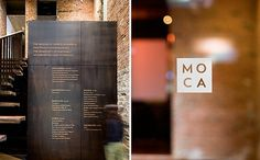 Enviromeant » Blog Archive » Museum of Chinese in America #signage #environment #typography