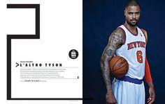 Rivista NBA / Spreads 2012 13 by Francesco Poroli