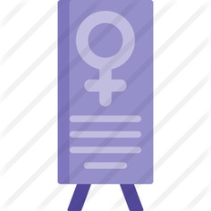 See more icon inspiration related to shapes and symbols, womens day, feminism, venus, femenine, gender, female, banner, girl, woman, signs and sign on Flaticon.