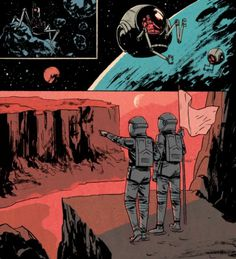 Patrick Leger / Space Odyssey #comic #space #astronaut #patrick #leger