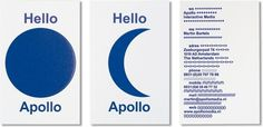 Apollo : Studio Laucke Siebein #print #design #graphic #identity