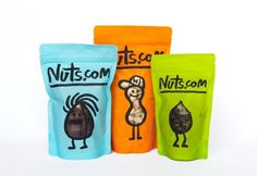 Branding and Packaging: Nuts.com « BP&O Logo, Branding, Packaging & Opinion by Richard Baird #packaging #design