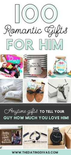 100 Romantic Gifts for Him-
