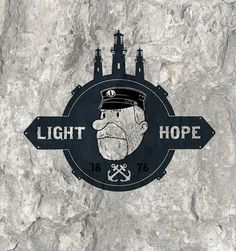 ON THE HIGH TOWER on the Behance Network #hope #sailor #hobo #and #light