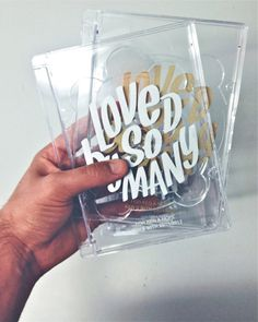 Loved By So Many [Studio Project] #lettering
