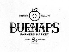 Burnaps #line #ny #branding #farm #logo #work