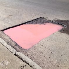 UGLY IS PRETTY #pink #concrete #environment #rectangle