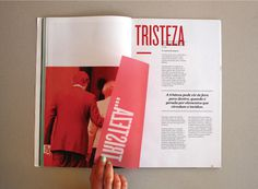 Estado vs Estados on Behance #print #design #spread #layout #editorial #magazine