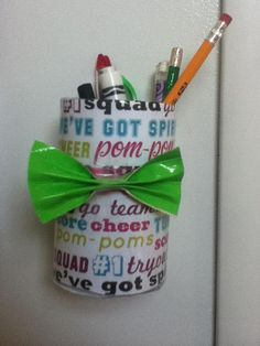 Magnetic Soup Can Locker Decor #design #makeup #decor #locker #decoration