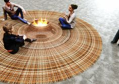 Domestic Gathering - Carpet by Stephanie Langard - www.homeworlddesign. com (2) #ideas #rug #design #carpet