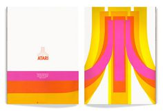 Atari logo #computer #video #gaming #1980s #1970s #logo #games
