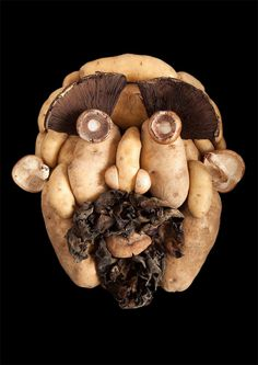 Fresh Faces Made From Organic Food by Emily Dryden & Zahydé Pietri