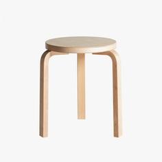 Stool 60 by Alvar Aalto for Artek. #stool