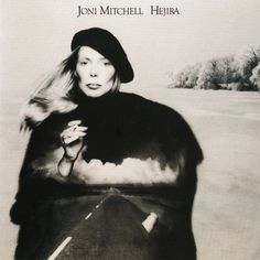 Joni Mitchell – Hejira (album cover) #joni mitchell #album cover #bw