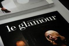 LE GLAMOUR print design