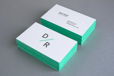 Personal Branding Daniel Renda #business #card #letter #press #stationery
