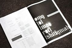 Template Zine - FPO: For Print Only #layout #design #graphic #typography