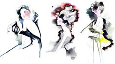 amelie hegardt fashion illustrations