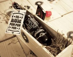 A Late Night Tipple Packaging, Product Design, Typography