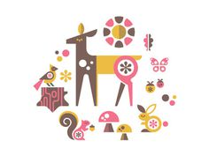 Ty_kowallaa_dribbble #deer #animals