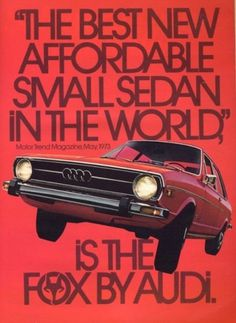 Merde! - Commercial (Audi Fox, 1974)