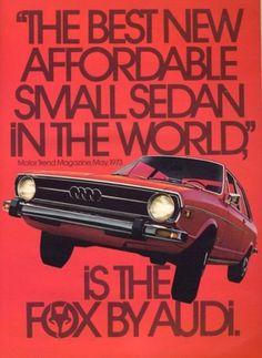 Merde! - Commercial (Audi Fox, 1974) #commercial