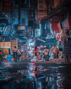 Cyberpunk Shanghai: Urban Photography by Victor Chiang