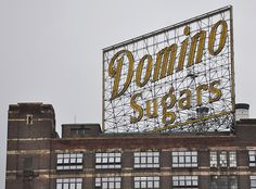 Domino Sugar Sign