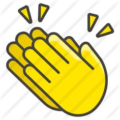 See more icon inspiration related to clap, hands and gestures, clapping, congratulations, hand gestures, hand gesture, applause and gestures on Flaticon.